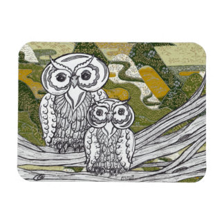 Chinese Paper Owls 8 Magnet