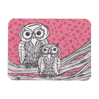 Chinese Paper Owls  Magnet