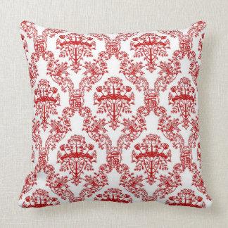 Chinese Papercut Damask Pillow
