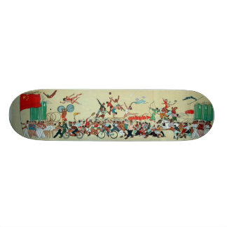 Chinese Parade Custom Skate Board