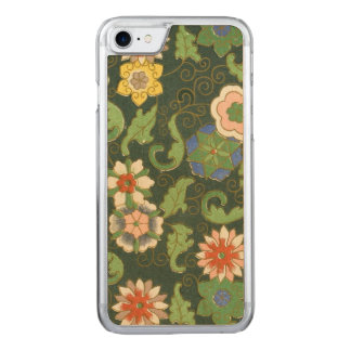 Chinese Pattern Cloisonne Carved iPhone 7 Case