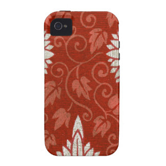 Chinese Pattern IVy Pattern Vibe iPhone 4 Cases