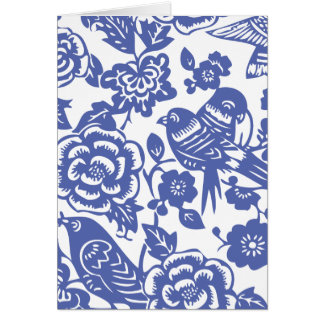 Chinese Pattern Note cards and Envelopes