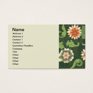Chinese Pattern Vintage Pattern Cloisonne Business Card