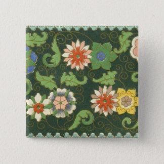Chinese Pattern Vintage Pattern Cloisonne Button