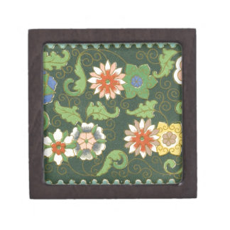 Chinese Pattern Vintage Pattern Cloisonne Gift Box