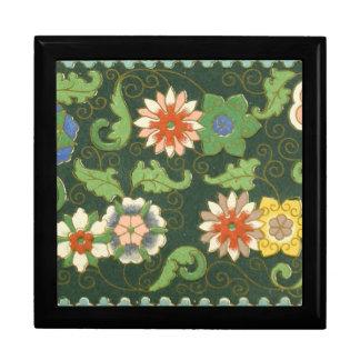 Chinese Pattern Vintage Pattern Cloisonne Keepsake Box