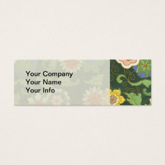 Chinese Pattern Vintage Pattern Cloisonne Mini Business Card