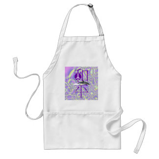 Chinese Peace Dolphin Adult Apron