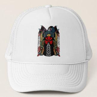 Chinese Peking Opera Mask Design Trucker Hat