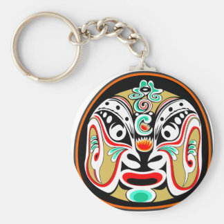 Chinese Peking opera mask version 2 Keychain