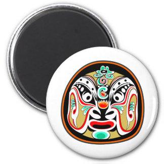 Chinese Peking opera mask version 2 Magnets