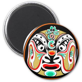 Chinese Peking opera mask version 2 Fridge Magnets