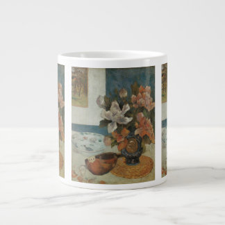 Chinese Peonies and Mandolin by Paul Gauguin Jumbo Mug
