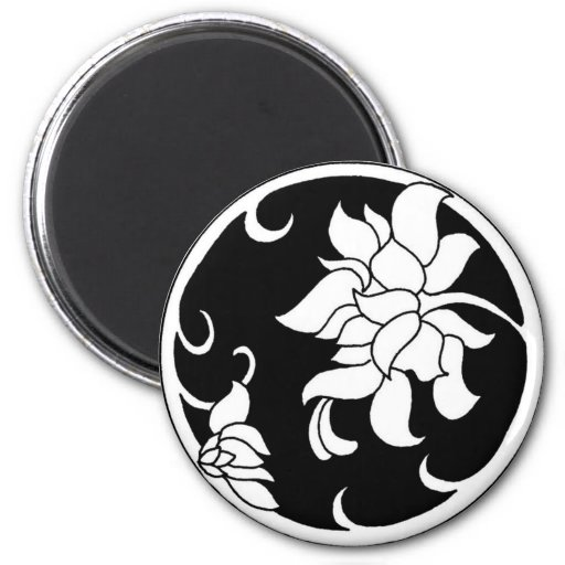 Chinese Peony Flower - Magnet