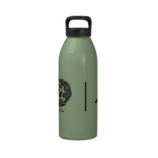 Chinese Phoenix Feng Huang Reusable Water Bottles