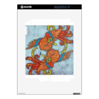 Chinese Phoenix iPad 2 Skin
