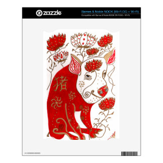 Chinese Pig Astrology Nook Skin