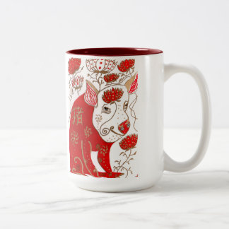 Chinese Pig Astrology Pig Mug