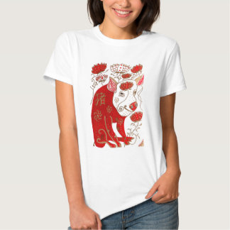 Chinese Pig Astrology Shirt for Women
