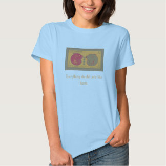 Chinese Pig Stamp, Everything should taste like... T-Shirt