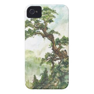 Chinese Pine Tree Landscape Blackberry Case