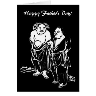 Chinese Poets Fathers Day Card