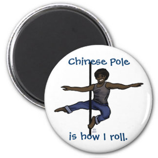 Chinese Pole 2 Inch Round Magnet