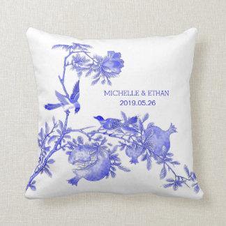 Porcelain Blue Decorative Pillows : Porcelain Blue Pillows - Decorative & Throw Pillows Zazzle