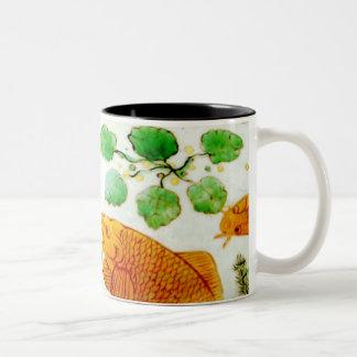 Chinese Porcelain Goldfish Mug