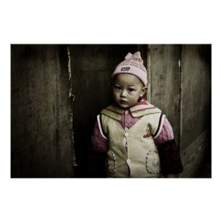 Chinese Poverty Print