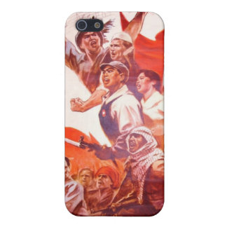 Chinese Propaganda Cover For iPhone SE/5/5s