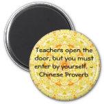 Chinese Proverb Fridge Magnet