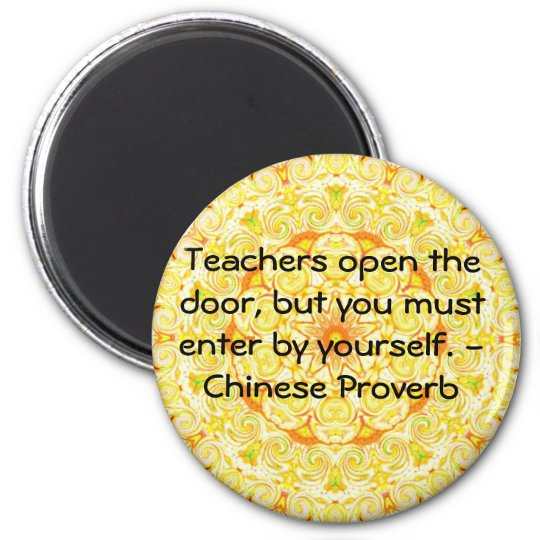Chinese Proverb Magnet