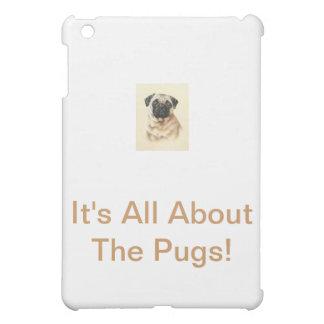 Chinese Pug iPad Mini Covers