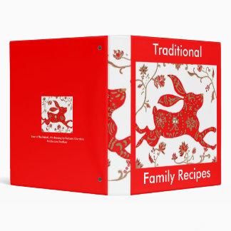 Chinese Rabbit Astrology Recipes Binder