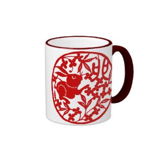 Chinese Rabbit Mug