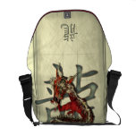 Chinese Red Dragon Courier Bags