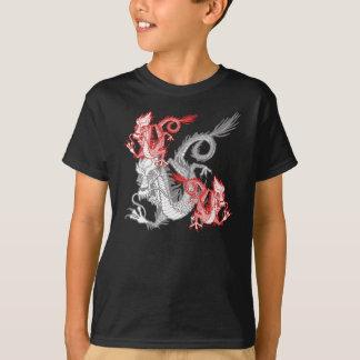 Chinese Red Dragon K T-Shirt