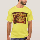 Chinese Red Enter the Dragon T-shirt Customized