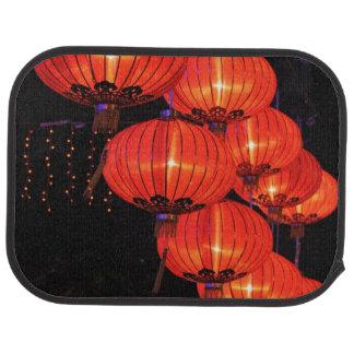 Chinese Red Lanterns Car Mat