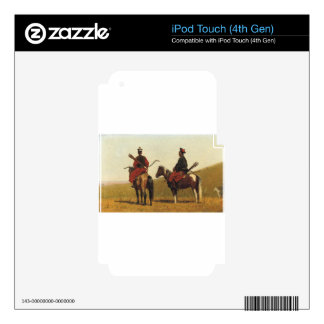 Chinese riders by Vasily Vereshchagin iPod Touch 4G Decal