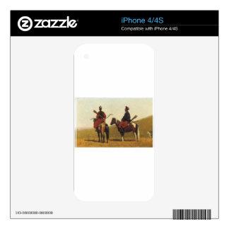 Chinese riders by Vasily Vereshchagin iPhone 4 Skin