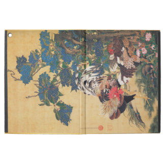 Chinese Rooster New Year 2017 Japanese Art Ipad P iPad Pro Case