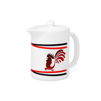Chinese Rooster Tea Pot