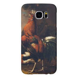 Chinese Rooster Year 2017 European painting S Case