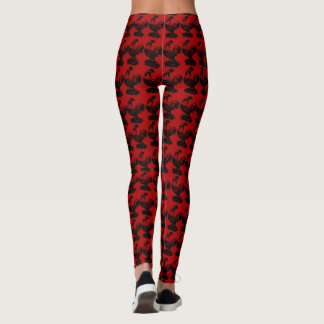 Chinese Rooster Year 2017 Leggings