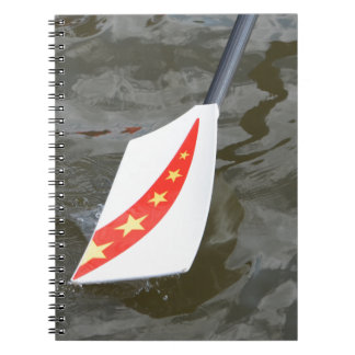 Chinese rowing oar note book