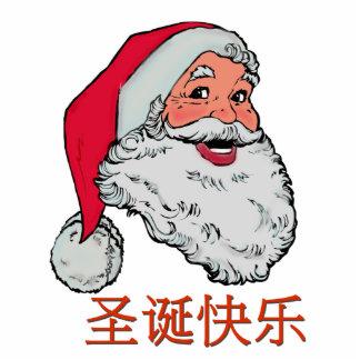 Chinese Santa Claus Statuette