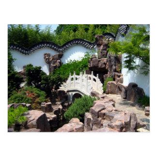 Chinese Scholar's Garden Postcard
